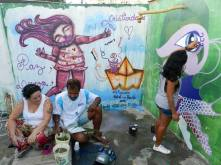 Chá de Ideias - Atelier & Galeria art de rua Manguecrew